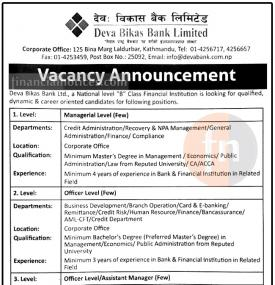 Banking Career Opportunity !!!