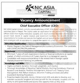 CEO Wanted !