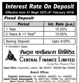 Interest Rate Notice