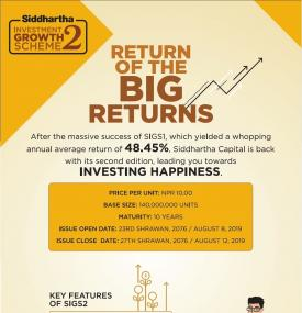 Siddhartha Investment Growth Scheme- 2