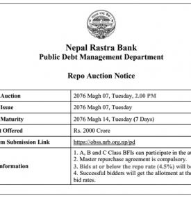 Repo Auction Notice