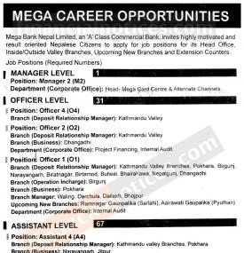Mega Career Opportunity !!!